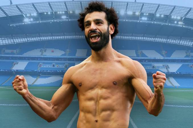 Liverpool forward Mohamed Salah a shock transfer target for Man City
