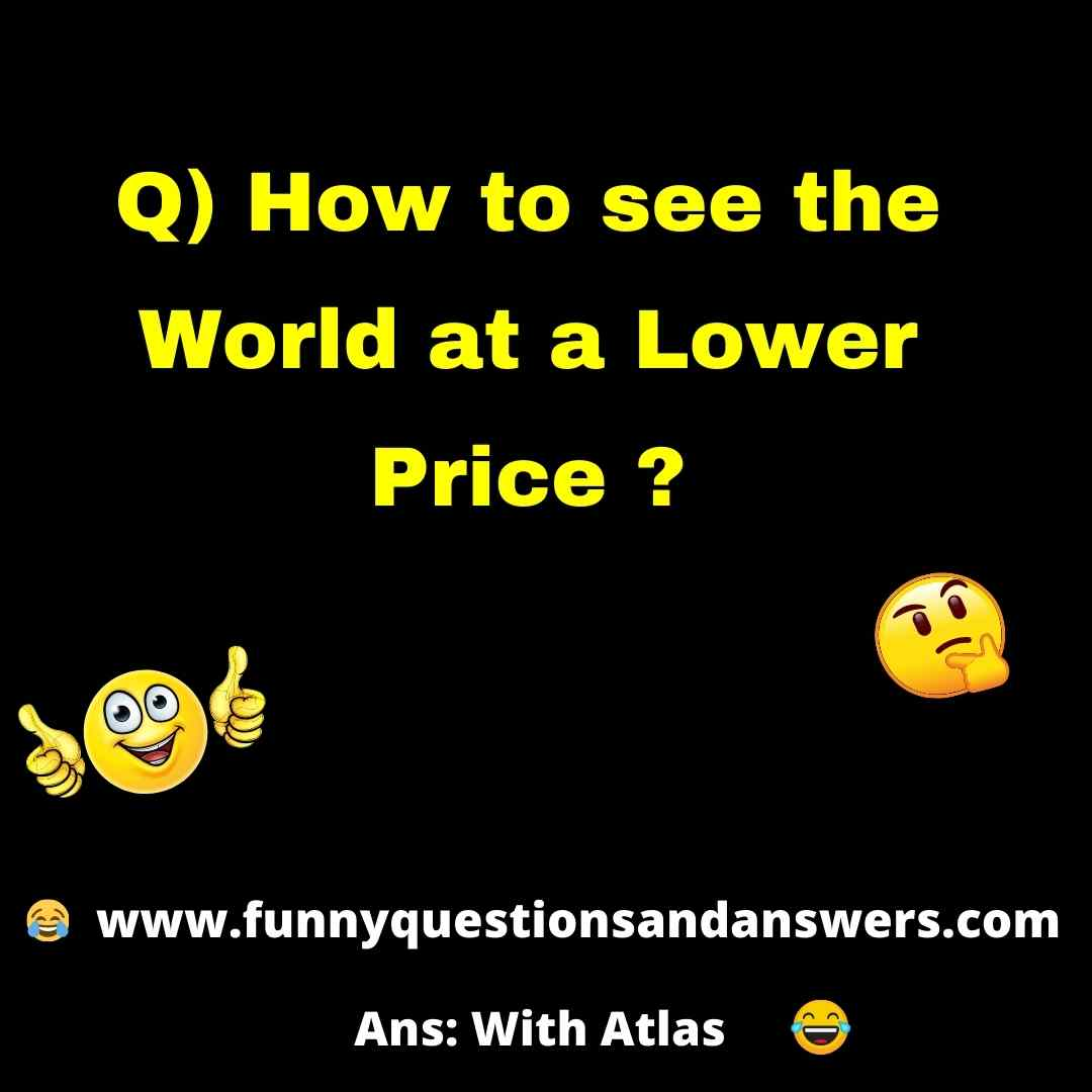 Funny Questions And Answers in English