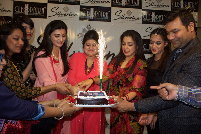 Silverine Spa and Salon kicked off the Bold and Beautiful campaign in Jaipur