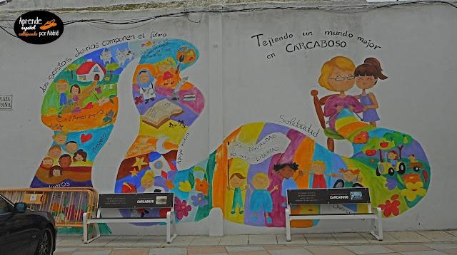 Aprende español: Callejeando por Carcaboso