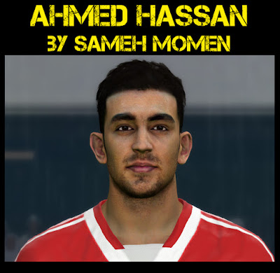 PES 2016 Ahmed Hassan face by Sameh Momen