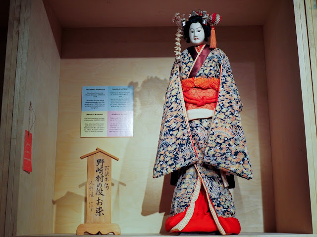 Marionetas para bunraku, Japón en el TOPIC de Tolosa