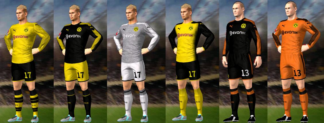 Kits/Uniformes Borussia Dortmund