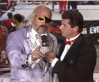 WWE / WWF Saturday Night's Main Event 2 - Jesse 'The Body' Ventura & Vince McMahon hosted the show