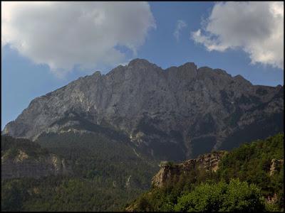Vertiente norte del Macizo del Pedraforca