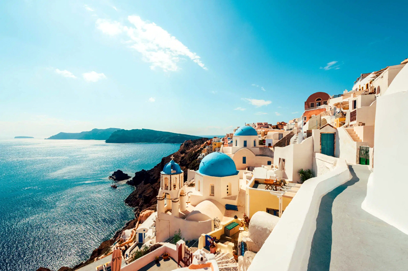 Greece is planning to open to tourists this summer
