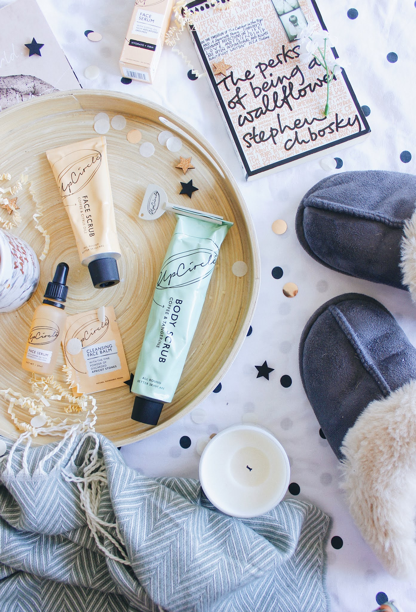 My evening routine w/ upcircle | sarahlaublogs