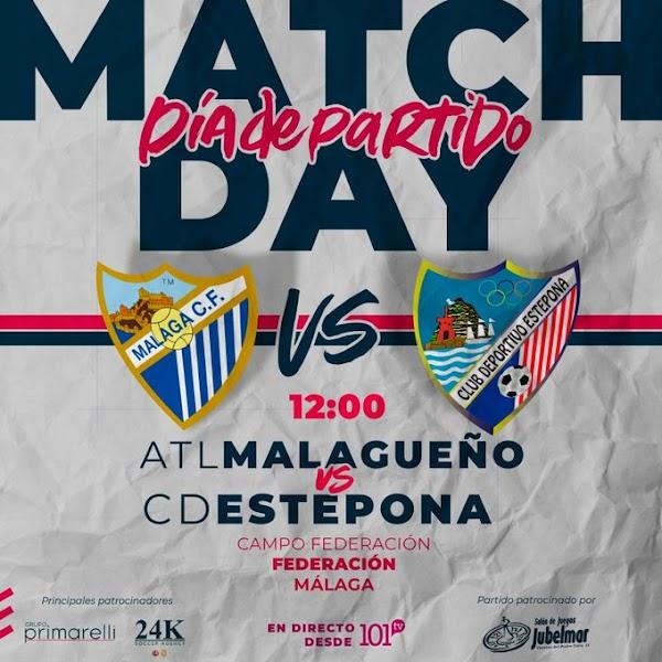 Atlético Malagueño - Estepona y dos derbis más hoy domingo