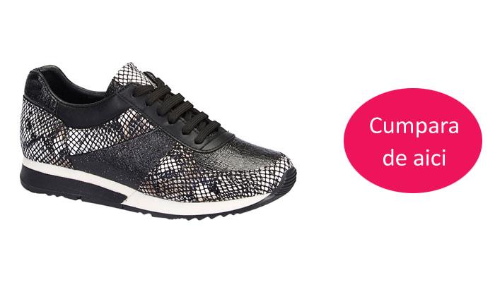Pantofi sport femei negri de toamna ieftini la moda online