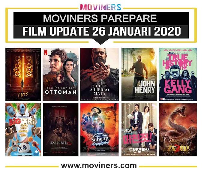 FILM UPDATE 26 JANUARI 2020