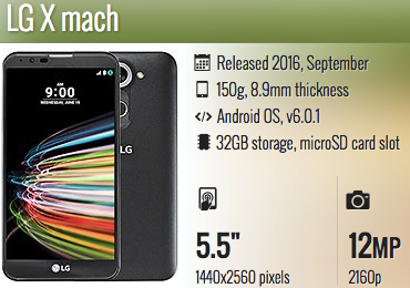 LG X mach USB Drivers and PC Suite Download