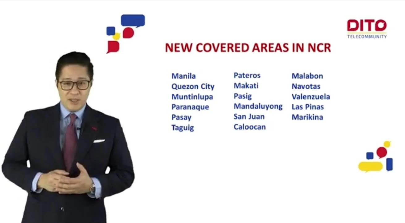 DITO Officially Launches in Metro Manila; Now Present in 100 Cities and Municipalities