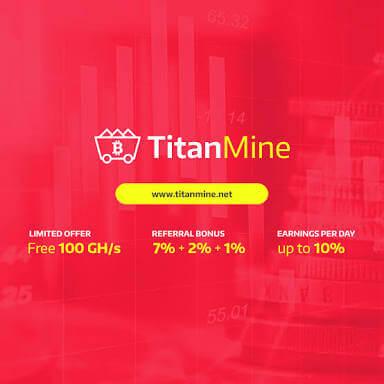 Cara mendapatkan Bitcoin & 100 Gh/s dari situs Titanmine.net