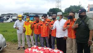 Peduli Sesama Relawan Partai Berkarya DPD II kabupaten Tangerang, Adakan Pembagian Nasi Bok