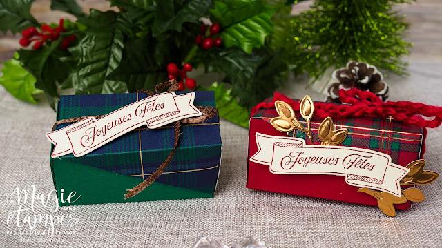 Boîte pour chocolats DIY Stampin' Up!