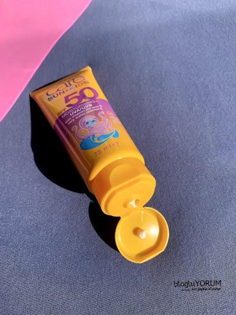avon care sun kids spf 50 çocuklar için güneş kremi kullananlar