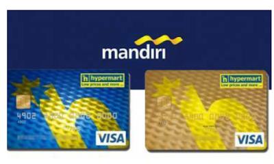 Mandiri Hypermart Card Classic dan Gold