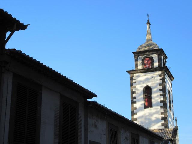 shadows in the church