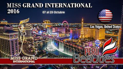 MISS GRAND INTL 2016 | Desde Las Vegas, EEUU
