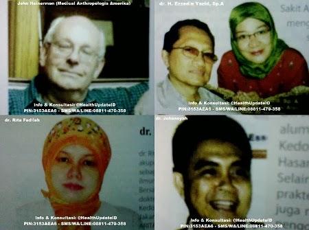 Testimonial dan Kesaksian Dokter tentang Tiens, John Heinerman (Medical Anthropologis Amerika) Dokter H. Ezzedin Yazid, Sp Dokter Rita Fadilah Dokter Johansyah
