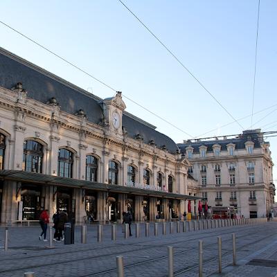Bordeaux Saint Jean train station.