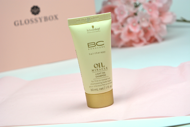 Glossybox Juli Unboxing | Schwarzkopf BC Oil Miracle Light Oil Shampoo