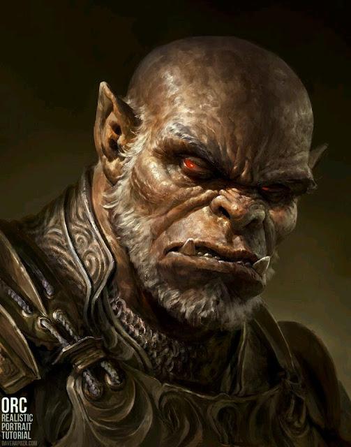 Ajustes raciais: Orc D&D 3.5