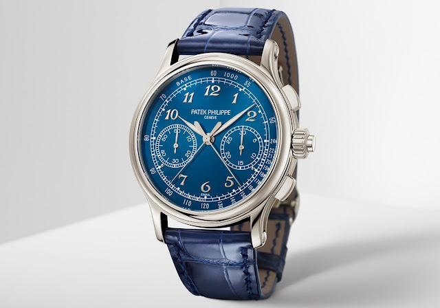 Patek Philippe Ref. 5370P Split-Seconds Chronograph Blue