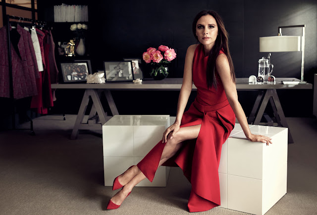 Victoria Beckham cant concentrate in heels