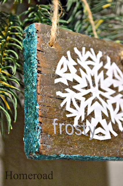 hand cut snowflake decorations www.homeroad.net