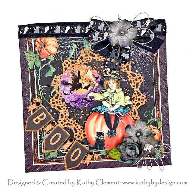 Magical Midnight Tales Halloween Card by Kathy Clement PHoto 01