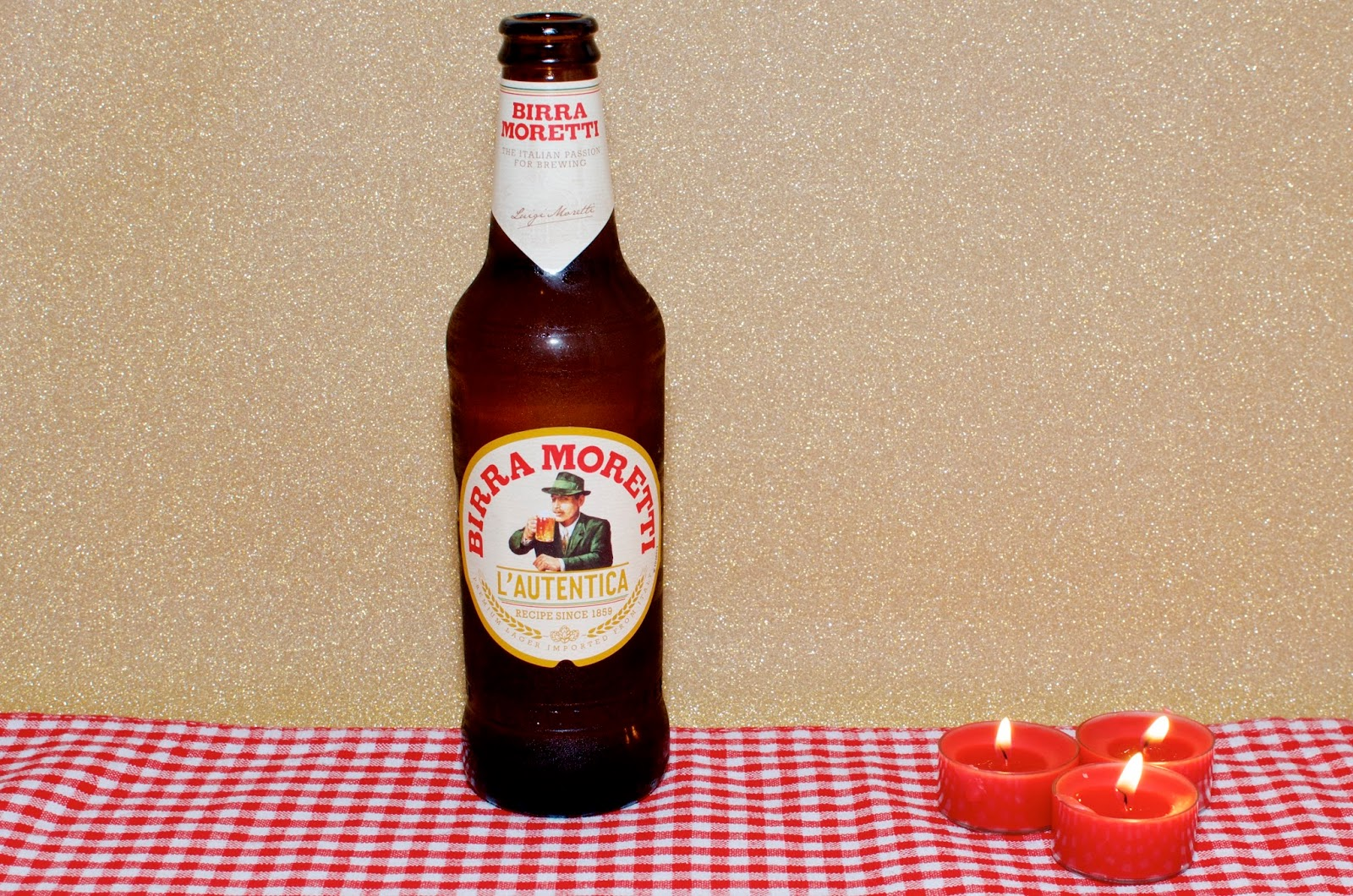 bottle of birra moretti italian beer