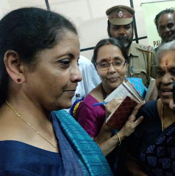 BUDGET 2020 : Nirmala Sitaram getting ready for February 1 ?