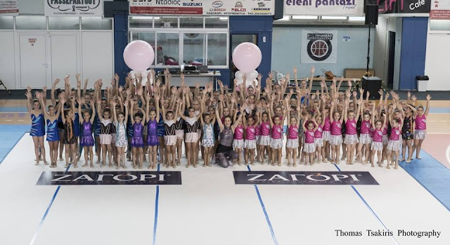 "Vitality Vivi's Personal Training: ""Μάγεψε"" το κοινό της Ηγουμενίτσας το τμήμα της Ρυθμικής Γυμναστικής"