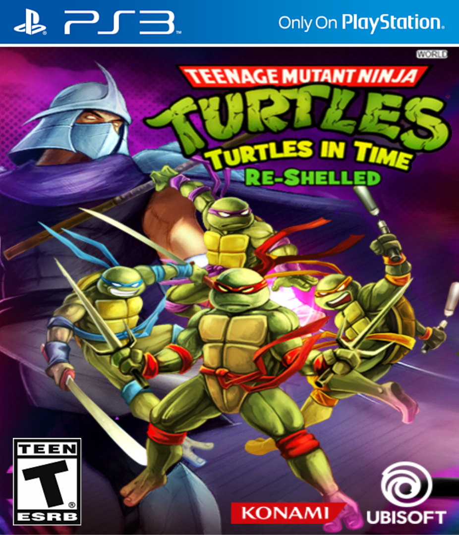 TMNT: Turtles In Time Re-Shelled PS3 ISO
