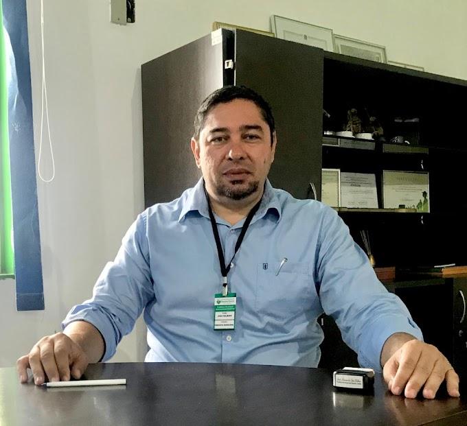 """Prefeito João Balbino em entrevista afirma: """"Eu vejo aqui em Rosário uma campanha muito fraca em relação a propostas"""" e elogia postura de Ramos como candidato a prefeito"""