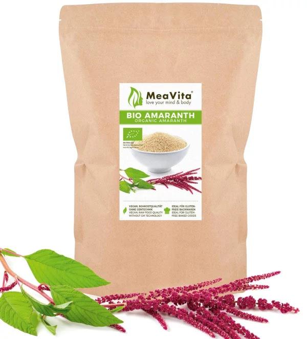 Amaranto organico Bio vegano