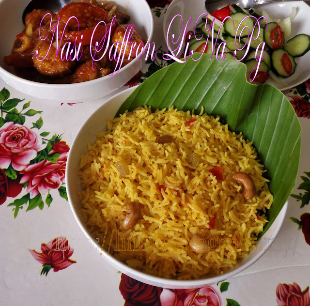 Nasi Saffron, Ayam Masak Merah Sedap