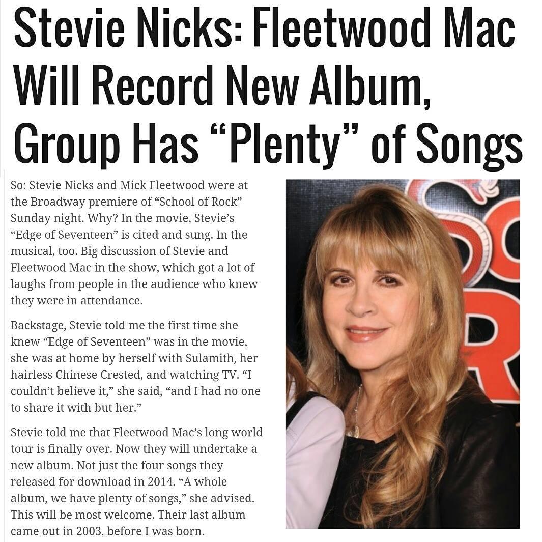 fleetwood mac news fleetwood mac will undertake a new album a whole album we have plenty of. Black Bedroom Furniture Sets. Home Design Ideas