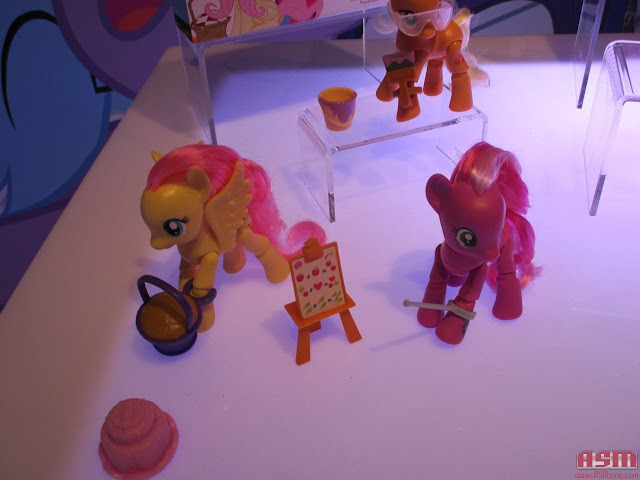 Articulated Brushables for 2016 MLP Fluttershy Cheerilee