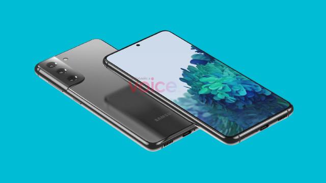 تسريب  تصميم سامسونج جالاكسي إس 21 أو إس 30، من شركة سامسونج Galaxy S21 (S30).