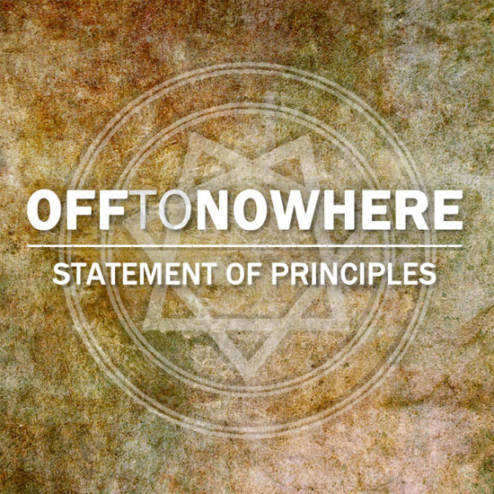 <center>Off To Nowhere stream debut EP 'Statement Of Principles'</center>