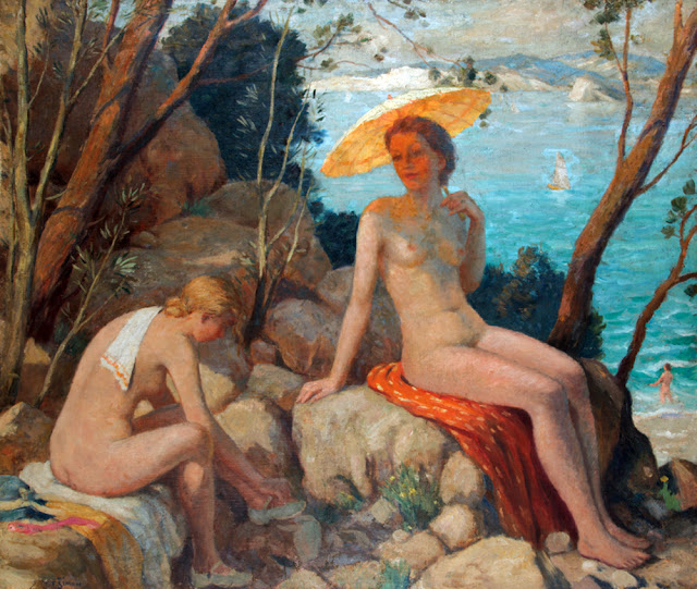 Tavik František Šimon, Artistic nude, The naked in the art