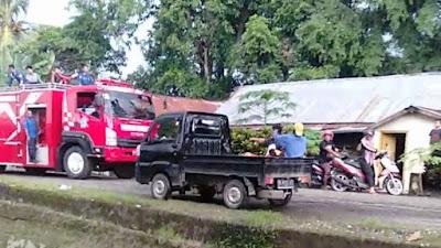 Pabrik Tahu Di Bone Terbakar, Satu Orang Kritis