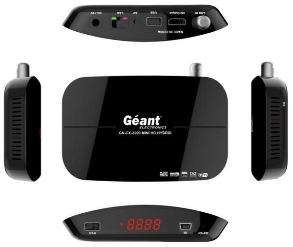أخر تحديث جبون GEANT 2200 MINI HD HYBIRD  متجدد دائما - ALGSAT