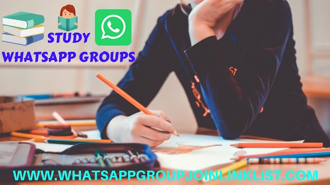 Study WhatsApp Group Join Link List