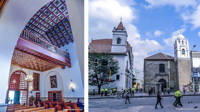 Bogotá: igrejas de La Veracruz e La Tercera