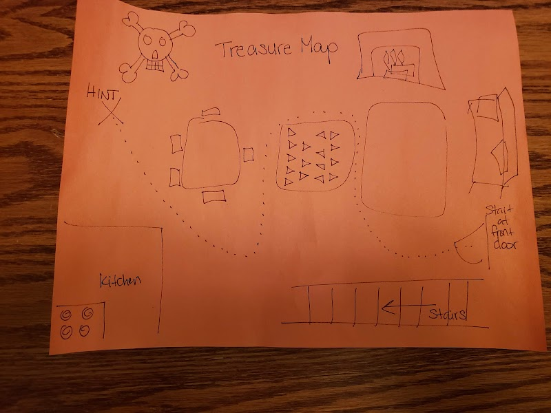 Game: Treasure Map