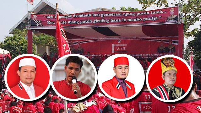 Jihar News, Ayahwa, Panyang, Tgk Adek dan Pon Yaya Kuasai Perolehan Suara DPRA Dapil V