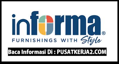 Loker Padang SMA Oktober 2019 Informa Furnishings